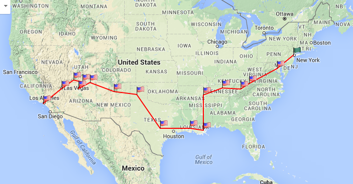 My American Road Trip 2016 –TrekAmerica